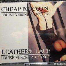 CDs de Música: MADONNA - CHEAP POPCORN - LEATHER & LACE - DOBLE CD - LIVE - EXCELENTE - RARO - NO CORREOS. Lote 195117782