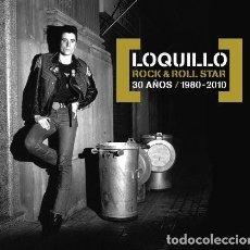 CDs de Música: LOQUILLO ROCK & ROLL STAR - 30 AÑOS 2 CDS NUEVO Y PRECINTADO. Lote 195121540