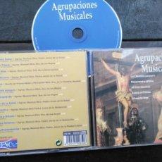 CDs de Música: CD SEMANA SANTA AGRUPACIONES MUSICALES SEVILLA LA CLAMIDE PURPURA NAZARENO Y GITANO ALMA DE DIOS ... Lote 195124033