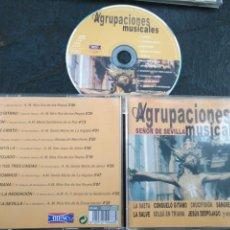 CDs de Música: CD SEMANA SANTA SEVILLA AGRUPACIONES MUSICALES SEÑOR DE SEVILLA . Lote 195126898
