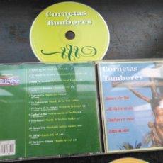 CDs de Música: CD SEMANA SANTA SEVILLA BANDA DE CORNETAS Y TAMBORES SONES DE SOL AL GITANO DE LA CAVA CACHORRO MIO . Lote 195127620