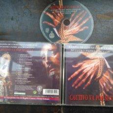 CDs de Música: CD ORIGINAL SEMANA SANTA SEVILLA BANDA DE CORNETAS Y TAMBORES JESUS CAUTIVO . Lote 195128048