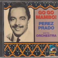 CDs de Música: GO GO MAMBO! CD PÉREZ PRADO AND HIS ORCHESTRA 1992. Lote 195128308