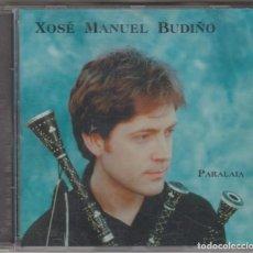 CDs de Música: XOSÉ MANUEL BUDIÑO CD PARALAIA 1998 CON KEPA JUNKERA. Lote 195131338