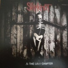 CDs de Música: SLIPKNOT .5 THE GRAY CHAPTER 2XCDS ESTUCHE EDITION SPECIAL. Lote 195131576