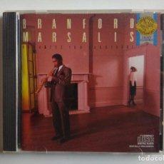 CDs de Música: CD - BRANFORD MARSALIS - ROMANCES FOR SAXOPHONE 1986 CBS MASTERWORKS MK 42122. Lote 195133867