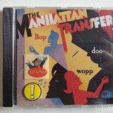CDs de Música: CD THE MANHATTAN TRANSFER – BOP DOO-WOPP ATLANTIC 1985 - SOUL JAZZ SWING. Lote 195134847