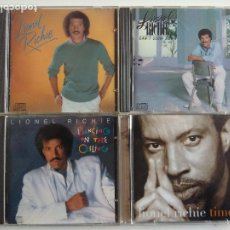 CDs de Música: 4 CDS LIONEL RICHIE - MOTOWN - TIME - DANCING ON THE CEILING - CAN'T SLOW DOWN RHYTHM & BLUES, SOUL. Lote 195136216