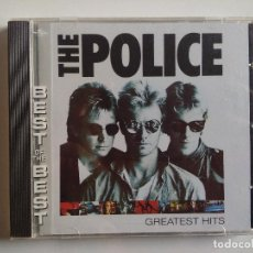 CDs de Música: CD - THE POLICE GREATEST HITS THE BEST OF THE BEST - STING - ROXANNE - SO LONELY. Lote 195138062