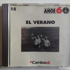CDs de Música: CD EL VERANO AÑOS 60 CAMBIO 16 NUMERO 15 RECOPILATORIO - SILVANA VELASCO - LOS NUCLEOS. Lote 195138957