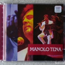 CDs de Música: MANOLO TENA.BASIKAMENTE...CD + DVD...RARO. Lote 195140895