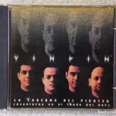CDs de Música: YINFIN.LA TABERNA DEL PICOTEO..HIP-HOP SARCASTICO..UNICO TRABAJO...MUY DIFICIL.ARAGON. Lote 195142478