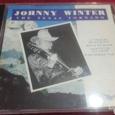 CDs de Música: JOHNNY WINTER TEXAS TORNADO CD DIFÍCIL. Lote 195145036