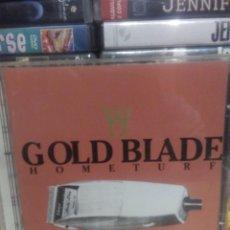 CDs de Música: GOLD BLADE - HOMETURF. Lote 195152540