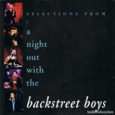 CDs de Música: BACKSTREET BOYS - SELECTIONS FROM A NIGHT OUT WITH THE. CD. Lote 195157932