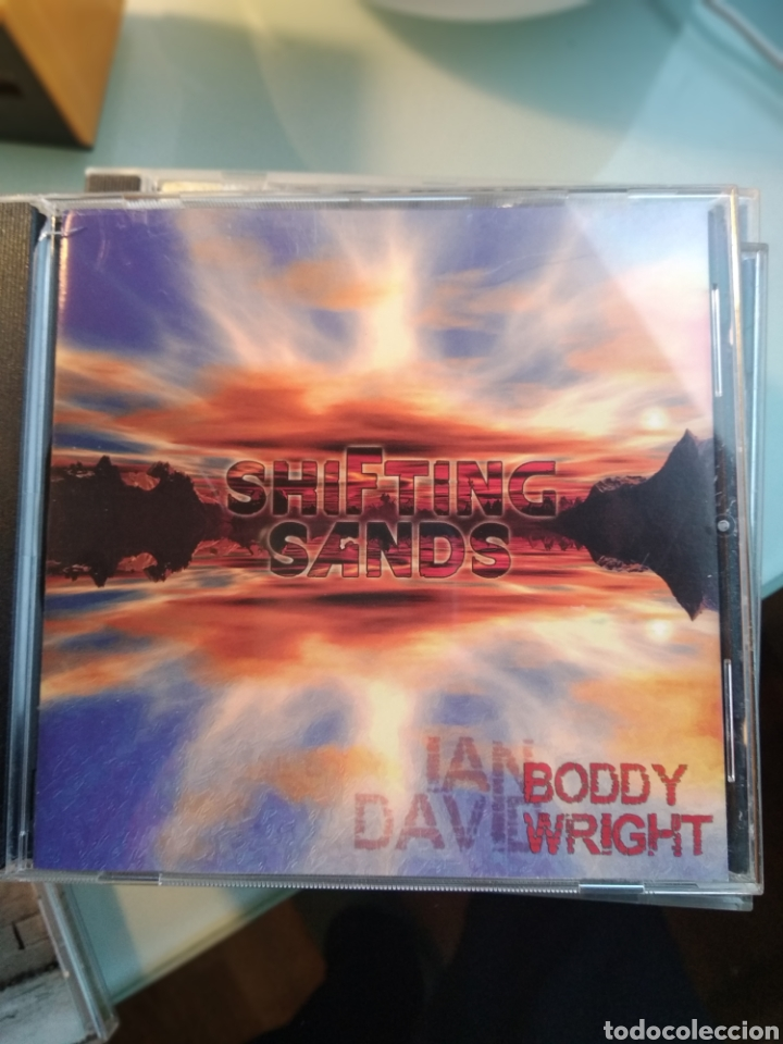 IAN BODDY & DAVID WRIGHT ‎– SHIFTING SANDS (Música - CD's New age)
