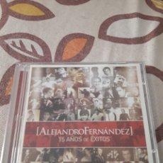 CDs de Música: CD + DVD DE ALEJANDRO FERNANDEZ. 15 AÑOS DE ÉXITOS. EDICION DE 2007.. Lote 195160698