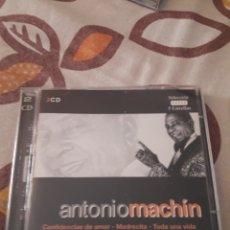 CDs de Música: DOBLE CD DE ANTONIO MACHIN. SELECCIÓN 5 ESTRELLAS. EDICION DE 2003. Lote 195161570
