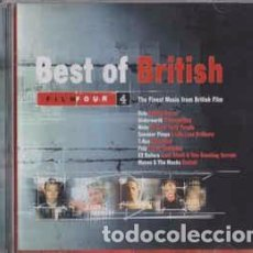 CDs de Música: VARIOUS - BEST OF BRITISH (THE FINEST MUSIC FROM BRITISH FILM) (CD) LABEL:CHANNEL 4 CAT#: C4M00222 . Lote 195163810
