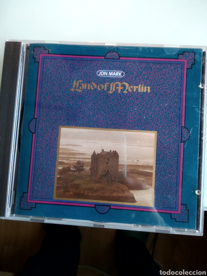 JON MARK ‎– LAND OF MERLIN (Música - CD's New age)