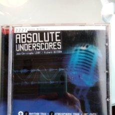 CDs de Música: JEAN-CHRISTOPHE LEMAY / RICHARD BOISSON – ABSOLUTE UNDERSCORES. Lote 195165995
