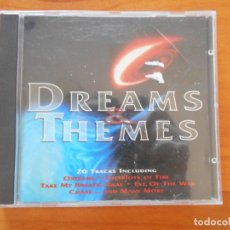 CDs de Música: CD DREAMS & THEMES - OXYGENE, CHARIOTS OF FIRE, TAKE MY BREATH AWAY, EVE OF THE WAR... (J4). Lote 195172181