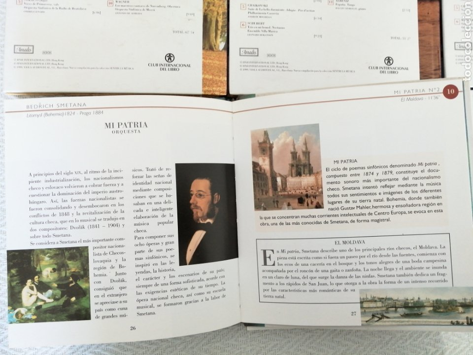 CDs de Música: CD BOOK-6 CD SENTIR LA MÚSICA-LEER TÍTULOS EN DESCRIPCIONES Y VER FOTOS. - Foto 9 - 195173171