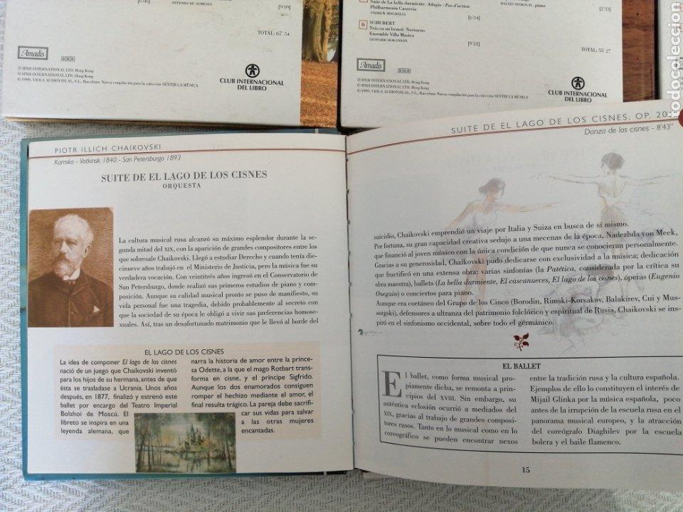 CDs de Música: CD BOOK-6 CD SENTIR LA MÚSICA-LEER TÍTULOS EN DESCRIPCIONES Y VER FOTOS. - Foto 10 - 195173171