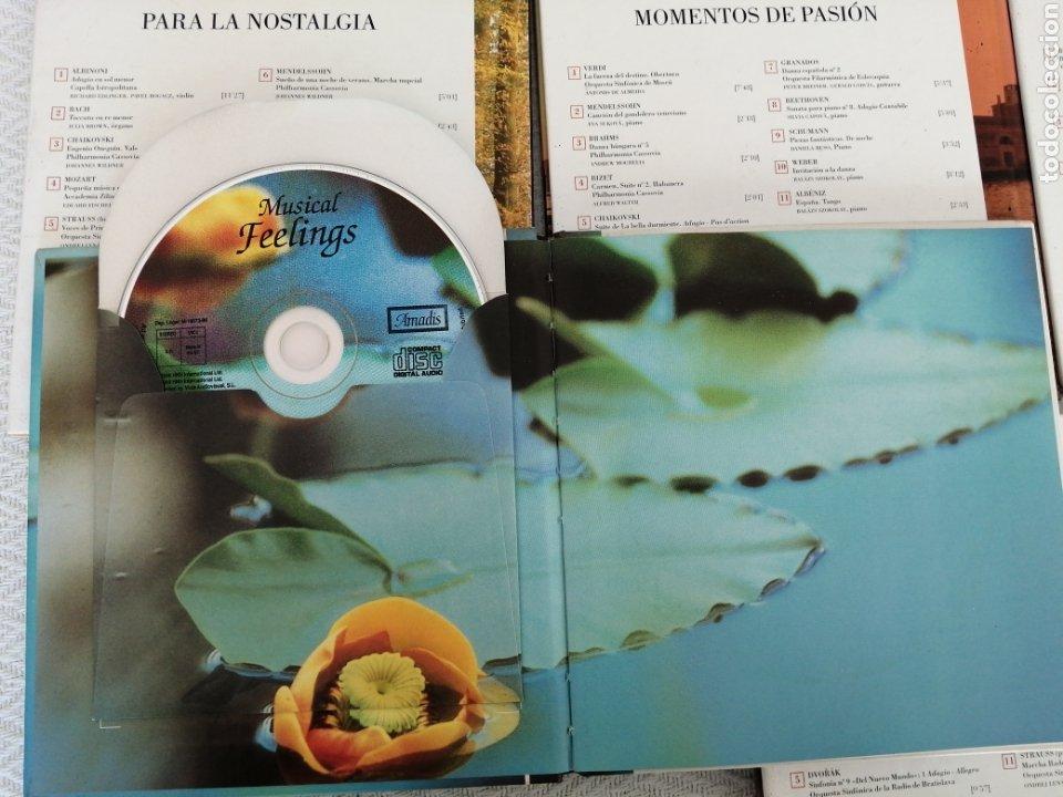 CDs de Música: CD BOOK-6 CD SENTIR LA MÚSICA-LEER TÍTULOS EN DESCRIPCIONES Y VER FOTOS. - Foto 11 - 195173171