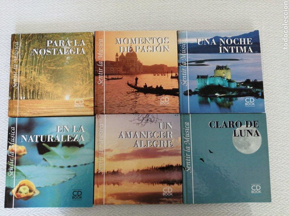 CD BOOK-6 CD SENTIR LA MÚSICA-LEER TÍTULOS EN DESCRIPCIONES Y VER FOTOS. (Música - CD's Clásica, Ópera, Zarzuela y Marchas)
