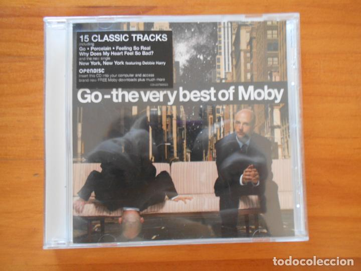 CD GO - THE VERY BEST OF MOBY (H4) (Música - CD's Techno)