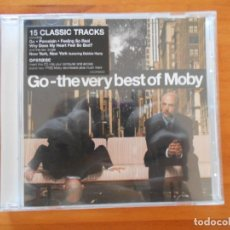 CDs de Música: CD GO - THE VERY BEST OF MOBY (H4). Lote 195173242