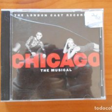 CDs de Música: CD CHICAGO - THE MUSICAL - THE LONDON CAST RECORDING (H4). Lote 195173450