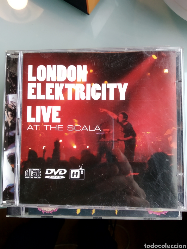 LONDON ELEKTRICITY ‎– LIVE AT THE SCALA (CD+DVD) INENCONTRABLE (Música - CD's Techno)