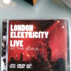 CDs de Música: LONDON ELEKTRICITY ‎– LIVE AT THE SCALA (CD+DVD) INENCONTRABLE. Lote 195173872