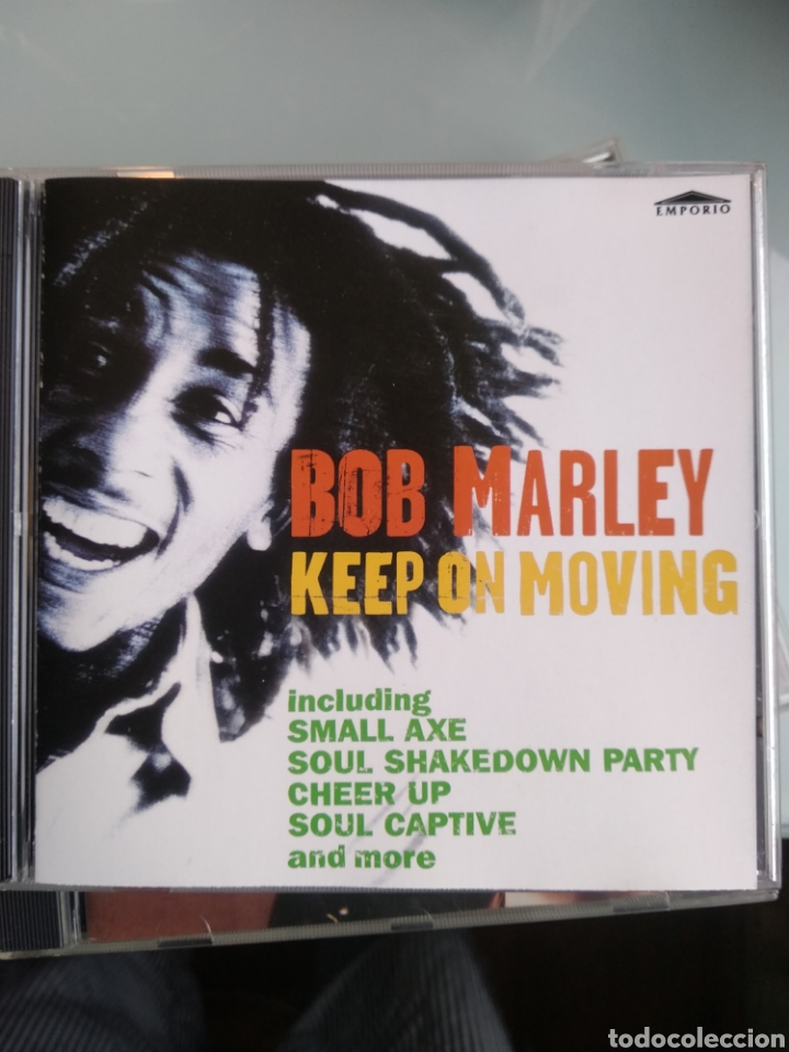 BOB MARLEY ‎– KEEP ON MOVING (Música - CD's Reggae)