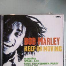 CDs de Música: BOB MARLEY ‎– KEEP ON MOVING. Lote 195179551