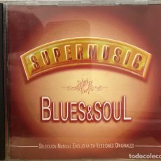 CDs de Música: BLUES & SOUL CD ÁLBUM. Lote 195182293