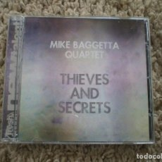 CDs de Música: CD. MIKE BAGGETTA QUARTET. THIEVES AND SECRETS. LIBRETO. MUY BUENA CONSERVACION. Lote 195182595