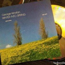 CDs de Música: CD GEORGE WINSTON - WINTER INTO SPRING, REEDICIÓN USA,WINDHAM HILL RECORDS– WD-1019 (VG++_VG++). Lote 195182710