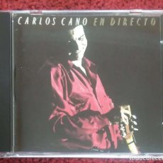 CDs de Música: CARLOS CANO (EN DIRECTO) CD 1990. Lote 195182813