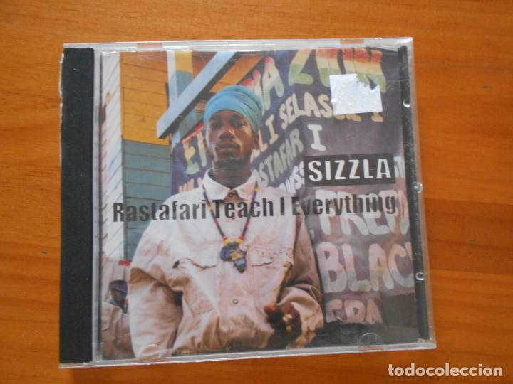 CD SIZZLA - RASTAFARI TEACH I EVERYTHING (N4) (Música - CD's Reggae)