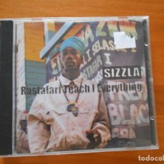 CDs de Música: CD SIZZLA - RASTAFARI TEACH I EVERYTHING (N4). Lote 195182956