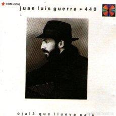 CDs de Música: JUAN LUIS GUERRA - OJALÁ QUE LLUEVA CAFÉ - CD ALBUM - 8 TRACKS - KAREN RECORDS / BMG MÉXICO 1990. Lote 195183112