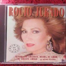 CDs de Música: ROCIO JURADO (SEÑORA, SI AMANECE... Y OTROS EXITOS) CD 1996. Lote 195183141