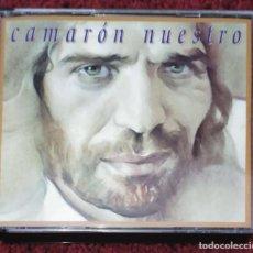 CDs de Música: CAMARON DE LA ISLA (CAMARON NUESTRO - GRABACIONES INEDITAS EN DIRECTO CON TOMATITO) 2 CD'S 1994. Lote 195183251
