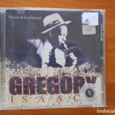 CDs de Música: CD GREGORY ISAACS - PRIVATE & CONFIDENTIAL (N4). Lote 195183887