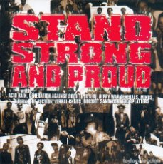 CDs de Música: VARIOS - STAND, STRONG AND PROUD - RECOPILACION SPLATTERS RCDS (CD). Lote 195196768