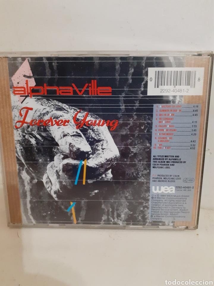 CDs de Música: ALPHAVILLE FOREVER YOUNG - Foto 2 - 195198303