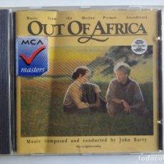 CDs de Música: CD JOHN BARRY ?– OUT OF AFRICA MEMORIAS DE AFRICA BANDA SONORA ORIGINAL ROBERT REFORD MERYL STREEP. Lote 195200120
